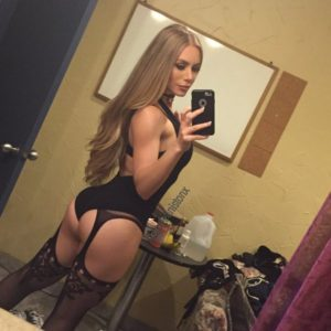 adult film all star nicole aniston in hot black lingerie