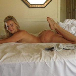 Beautiful twitter photo of mia laying on bed