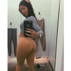 gorgeous yoventura taking an ass selfie in nude pants
