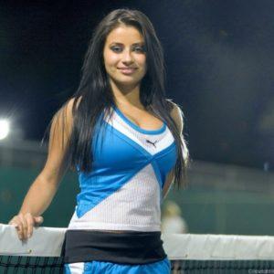 sexy alexa loren in hot cheerleader outfit