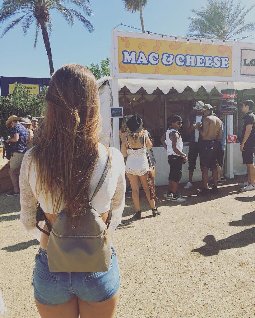 Jessica Hull ass in jorts Coachella