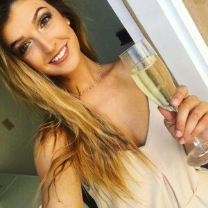 Jessica Hull champagne