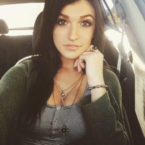 Jessica Hull selfie huge tits