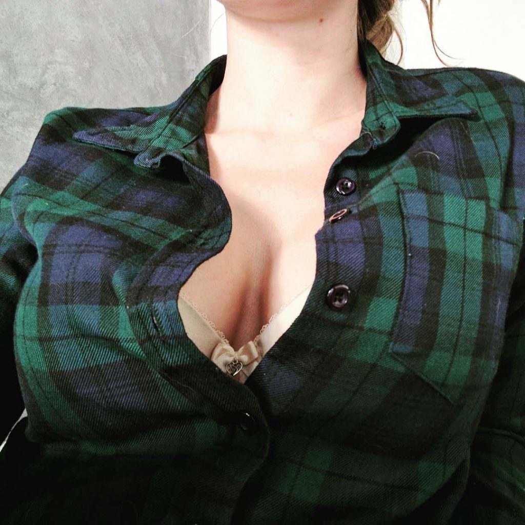 Ashley Alban cleavage