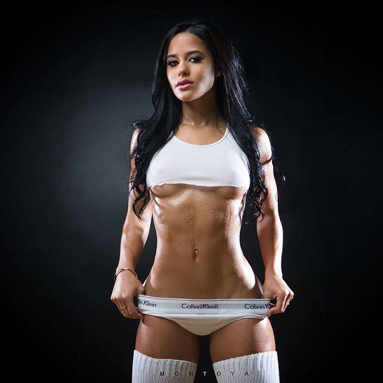 sexiest instagram girl katya elise henry showing off her half nude tits